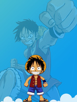 One Piece Luffy With a System