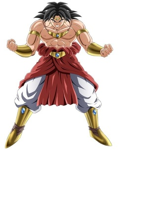 Broly in Naruto