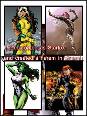 I reincarnated as Starfox and created a harem in Marvel (+18