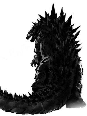 Reborn as Godzilla in Another World