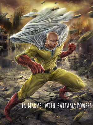 In Marvel with saitama power