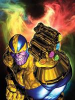In anime world with infinity gauntlet [ ON HOLD ]