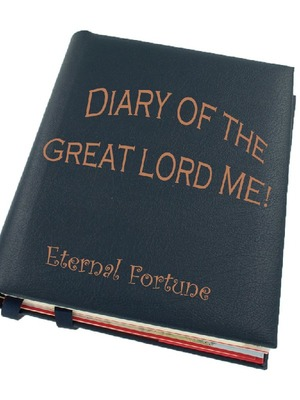 Diary Of the Great Lord ME! with some time traveling!