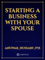 Starting a Business with your Spouse