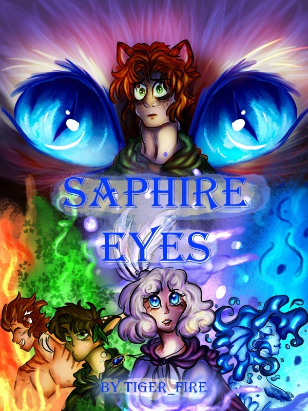 Sapphire Eyes By Tiger_Fire