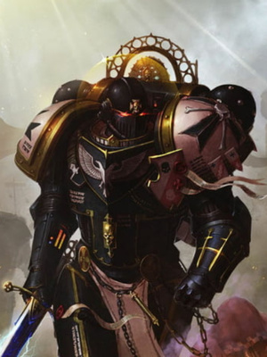 In the World of Sword and Magic as Space Marine